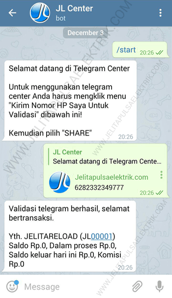 paralel telegram jelitareload