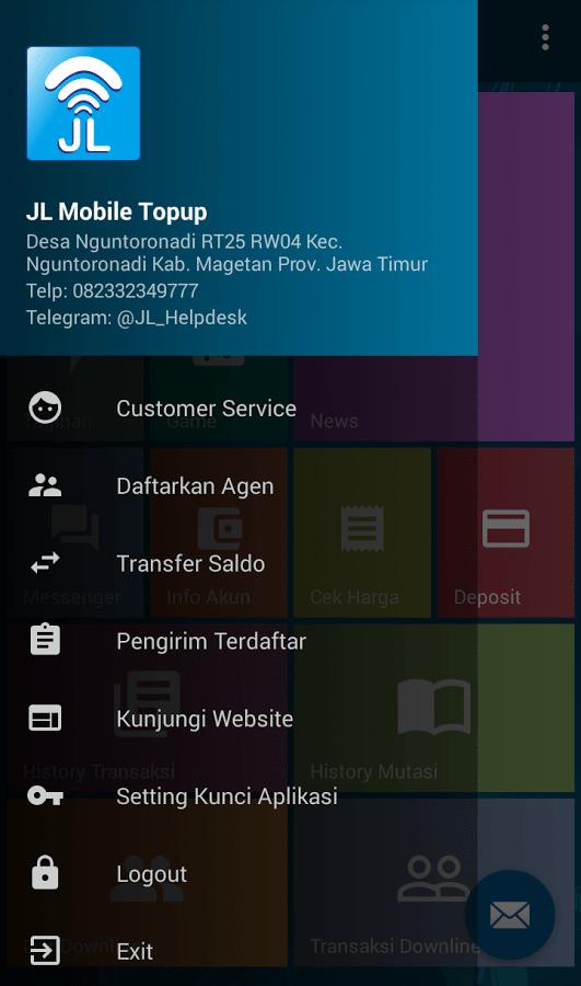 jl mobile topup pulsa